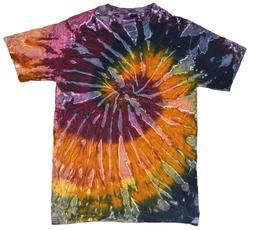 Multi-Color Galaxy Tie Dye T-Shirts Adult SM - XXXL 100% Cot