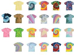 Multi-Color Handmade Tie Dye T-Shirts Kids & Adult 100% Cott