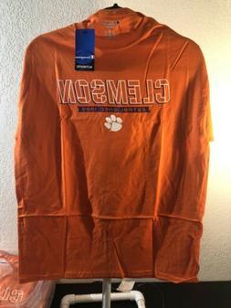 Champion NCAA Clemson Tigers T-Shirt Orange NEW Men's Large