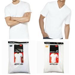 3 to 6 Pcs For Men 100% Cotton Tagless T-Shirt Undershirt Cr
