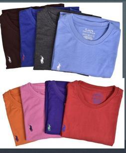 New Men Polo Ralph Lauren Crew Neck T-Shirt Size S M L 3X 4X