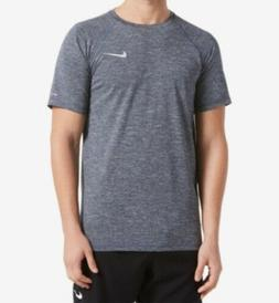 New Nike Men's Big & Tall Hydroguard Heather Rash Guard Shir
