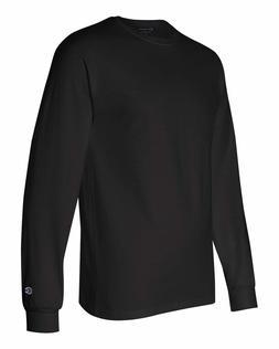 New Men's Champion Cotton Long Sleeve T-Shirt  NWOT