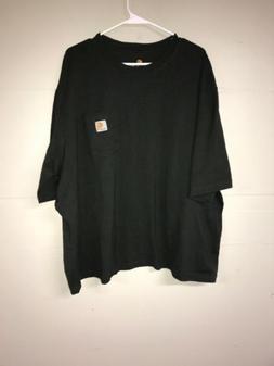 New Carhartt Men's Short Sleeve T-Shirt Original Fit Gray Si