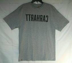 New Carhartt Men's Short Sleeve T-Shirt Original Fit Heather