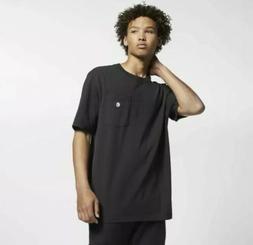 NEW Sz MED Men's Hurley X Carhartt BFY Pocket Tee Black T