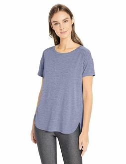 NEW Amazon Essentials Womens Studio Relaxed-Fit Crewneck T-S