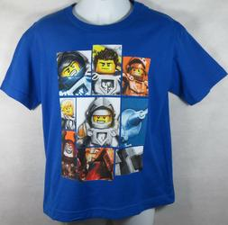 LEGO Nexo Knights Boys T-Shirts Officially Licensed  New Blu