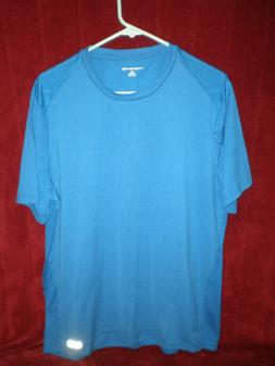 NWOT - Amazon Essentials Men's Performance SS Meshed Blue T-