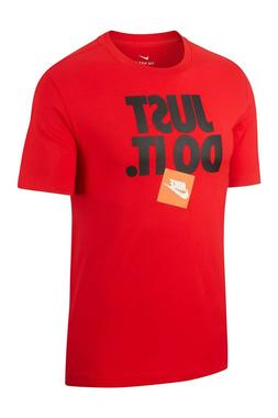 NWT NIKE Men's Dri Fit Big & Tall JDI Athletic T-Shirt Red L