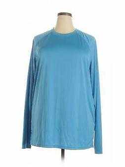 NWT Baleaf Sports Women Blue Active T Shirt 3X Plus