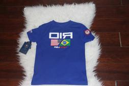 Polo Ralph Lauren t shirt for boys size 6 spesial eddition