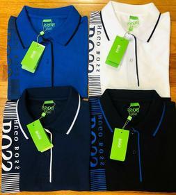 HUGO BOSS Polo T-Shirts for Men 95 % Cotton 5% Lycra bio Sli
