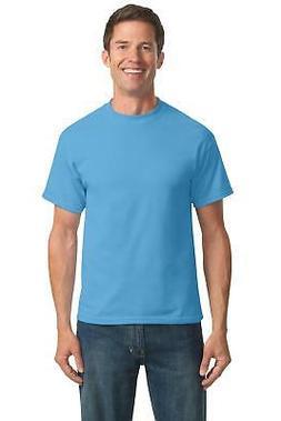 Port & Company Men's Big & Tall 50/50 Short Sleeve Basic Tee