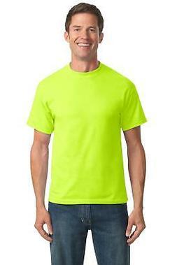 Port & Company PC55T Tall Tshirt Men's Tall 50/50 Cotton/Pol