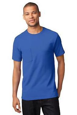 Port & Company PC61PT Mens Tall Essential T-Shirt with Pocke
