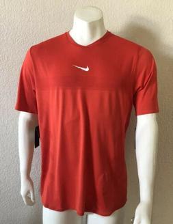 RARE Nike Tennis T-Shirt Rafael Nadal Aeroreact Slim Red 888