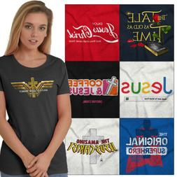 Religious Tees Pop Culture Christian T Shirts For Ladies Wom