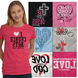 Religious Tees Shirt Fitted T Shirts For Ladies Christian Wo