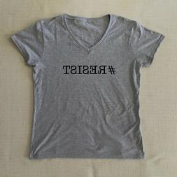 # Resist T Shirt - Super Soft Unisex Crew Neck or Womans V N