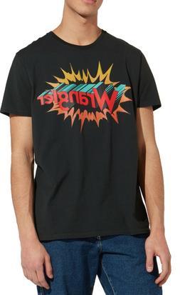 Wrangler Retro Festival Brand Logo T-shirt Mens Crew Neck Pr