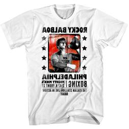 Rocky Balboa Philadelphia Boxing Men's T Shirt Might Mick's