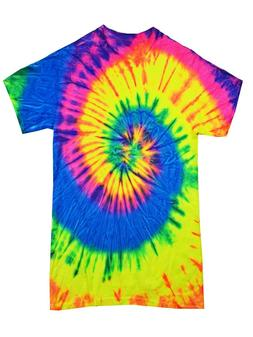 Set of 11 Tie Dye Multicolor T-Shirts  Youth and Adult  Colo