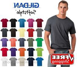 Gildan Softstyle T-Shirt Ring Spun Cotton Soft Short Sleeve