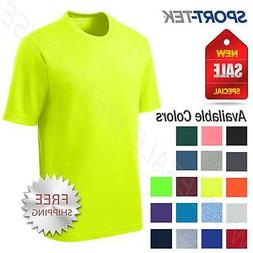 Sport-Tek Men's Dry-Fit RacerMesh Moisture Wicking T-Shirt M
