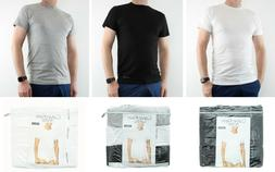 Calvin Klein T-Shirt, Mens 3-Pack Crew Neck Classic Fit Unde