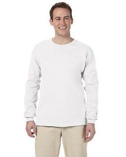 Fruit Of The Loom T-Shirt Tee 5.6 oz Heavy Cotton Men's Long
