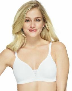 Hanes T-Shirt Unlined Wirefree Bra Ultimate ComfortFlex Fit