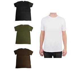 5, 10, or 12 Pack T-Shirts Preshrunk 100% Soft Cotton Superi