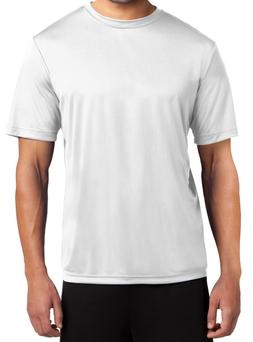 T shirts for sublimation 100% polyester short sleeve white b