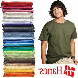 HANES Tagless 6.oz  Blank T-Shirt  Wholesale Bulk Lot COLORS