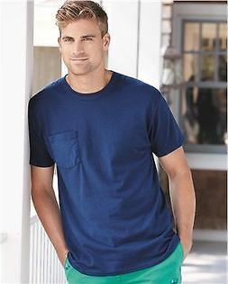 Hanes Tagless T-Shirt with a Pocket 5590 S-XL T-Shirts