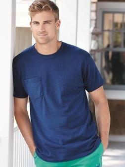 Hanes - Tagless T-Shirt with a Pocket - 5590