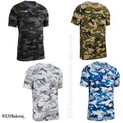 Nike Tee Men's Camo T-Shirt Dry Training Dri-FIT size M-XXL