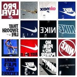 NIKE Men's Tee T SHIRT Graphic Swoosh Just Do It Logo M L XL
