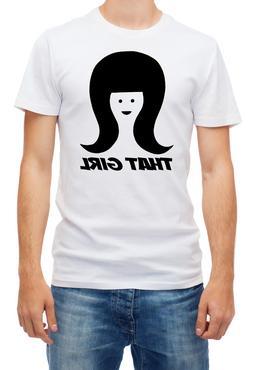 That Girl for Men's short sleeve white T-Shirt