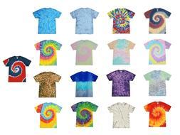 Tie Dye T-Shirts Pastel Rainbow, Twist, US Colors, Kids & Ad