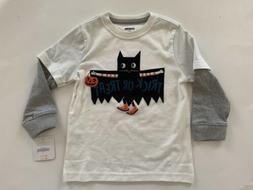 Gymboree Toddler Boy Halloween Long Sleeve T-shirt Size 2T