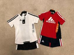 Adidas Toddler Boys T-Shirt and Shorts Set 2T 3T
