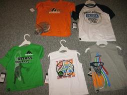 ADIDAS Toddler Boys T-Shirt  Moisture Wick Sport Shirt. NWT