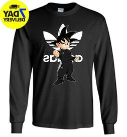 Trending Goku Adida Long Sleeve T-Shirt All Size Funny for M