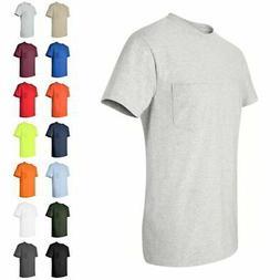Gildan Ultra Cotton Mens Short Sleeve T Shirt with a Pocket