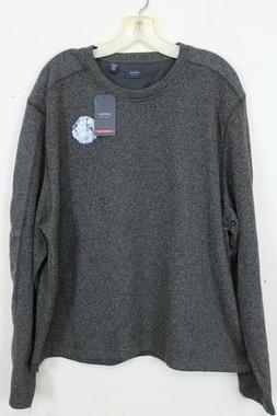 Arrow USA 1851 Mens Shirt Aberdeen Fleece Long Sleeve Gray A