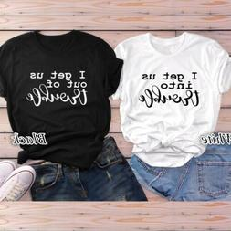 Women's Cute Shirts For Best Friends Girls Funny Fashion Top