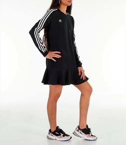 WOMEN'S ADIDAS NWT ORIGINALS FLARE HEM SWING T-SHIRT DRESS $