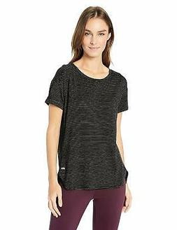 Amazon Essentials Women's Patterned Studio Relaxed-Fit Crewn
